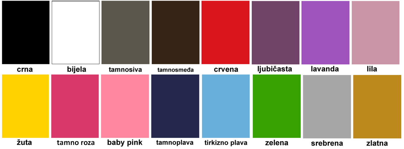 MagisWall paleta boja